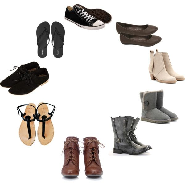 """Natural Personality Style (Shoes)"" by silhouetteimage on Polyvore"