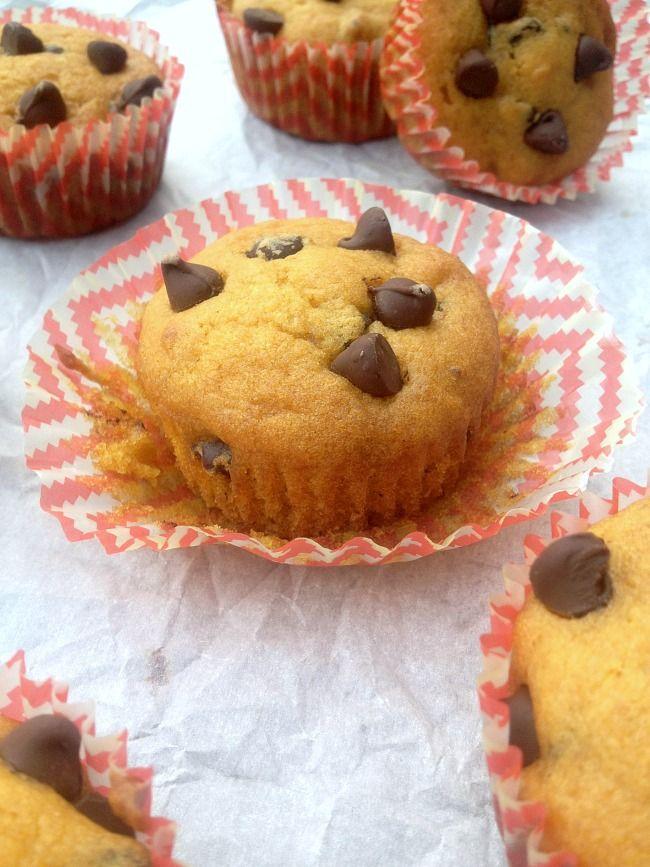Chocolate Chip Pumpkin Muffins — Everyday Desserts