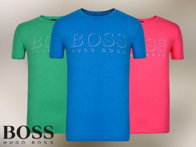 HUGO BOSS rövid ujjú férfi pólók