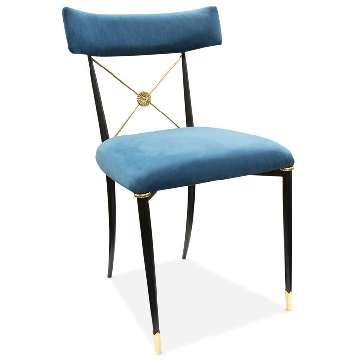 Jonathan Adler Rider Extendable Dining Table Reviews: Chairs - Rider Dining Chair
