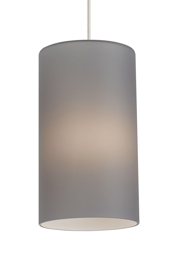 The Mati C11 Grey pendant light by LBL Lighting- is subtle enough to use in any room of the home. This cylindrical lighting fixture is easily made energy-efficient by ordering with an LED bulb, and its hand-blown glass design has understated appeal that would easily fit into modern, contemporary and transitional décor.  In a Satin Nickel Finish.