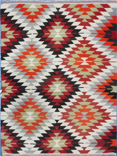 Turkish Kilim is available in two kinds of natural materials namely wool and silk which are popular for their longevity. Kilims are widely manufactured in places where natural materials are abundant and easily available.