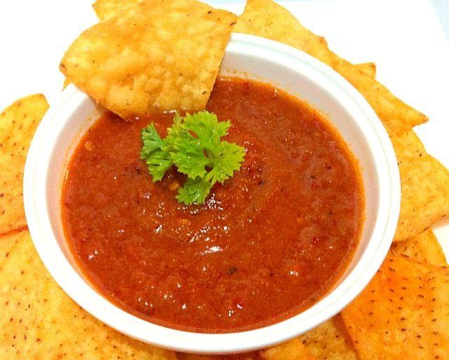 レシピとお料理がひらめくSnapDish - 24件のもぐもぐ - Salsa roja (red hot sauce) by Jorge Bernal Márquez