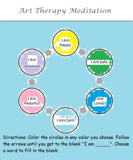 Color Therapy Meditation: This is the easiest way to practice meditation for anyone seeking a daily meditation practice! You have to try this if you are a mental health professional on yourself, then share it with your clients!