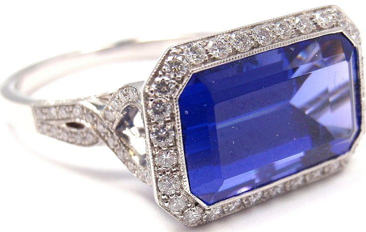 tanzanite engagement rings tiffany - 736×466