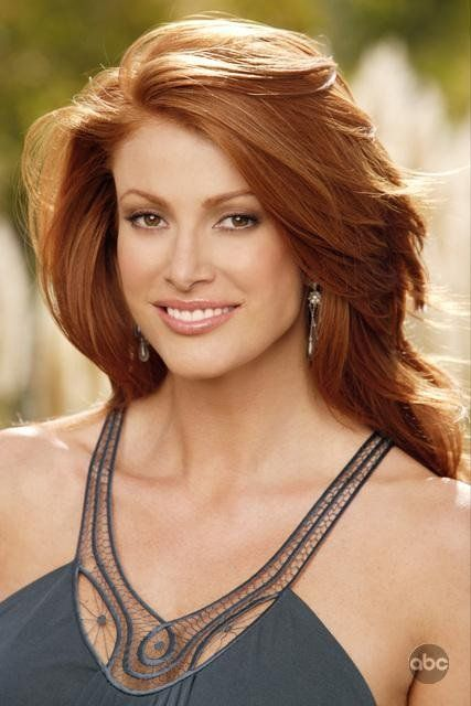 Angie Everhart in Ex Wives Club (2005) - I LOVE RED HAIR.
