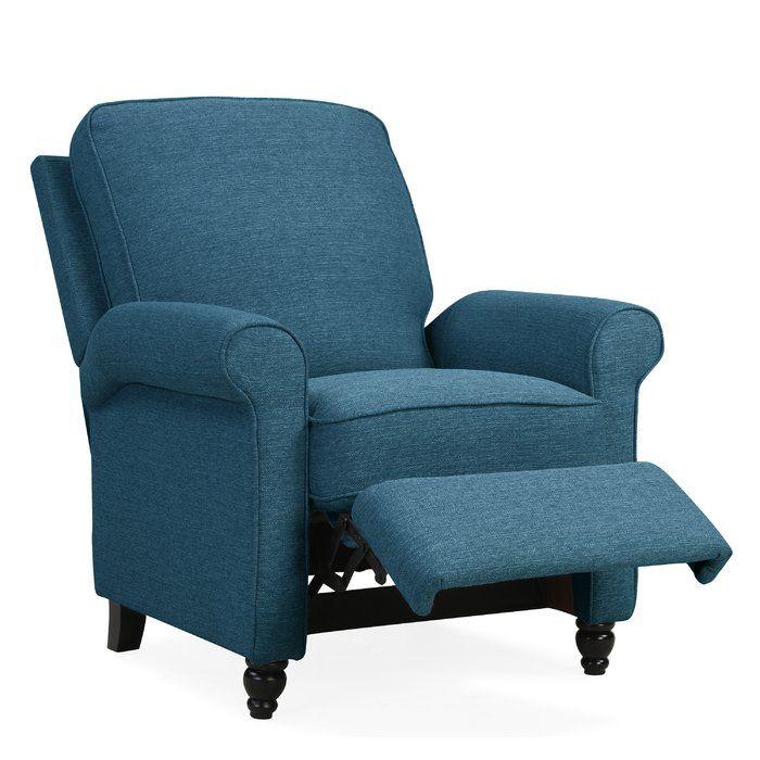 Andover Mills Leni Manual Recliner Reviews Wayfair Recliner Furniture Reclining Armchair