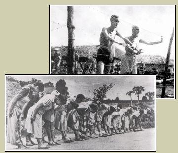 Slachtoffers van de japanse concentratiekampen in Nederlands-Indië