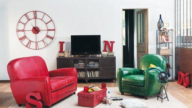 10 horloges pour d corer le salon photos et salons for Decorer le salon