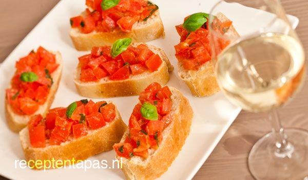 Bruschetta met tomatensalsa
