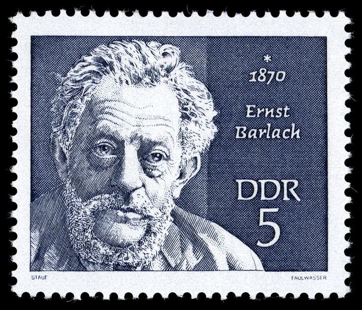 BriefmarkenJahrgang 1970 der Deutschen Post der DDR