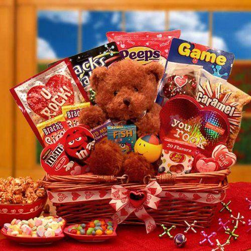 Kids Valentines Gift Basket $59.99 #topseller