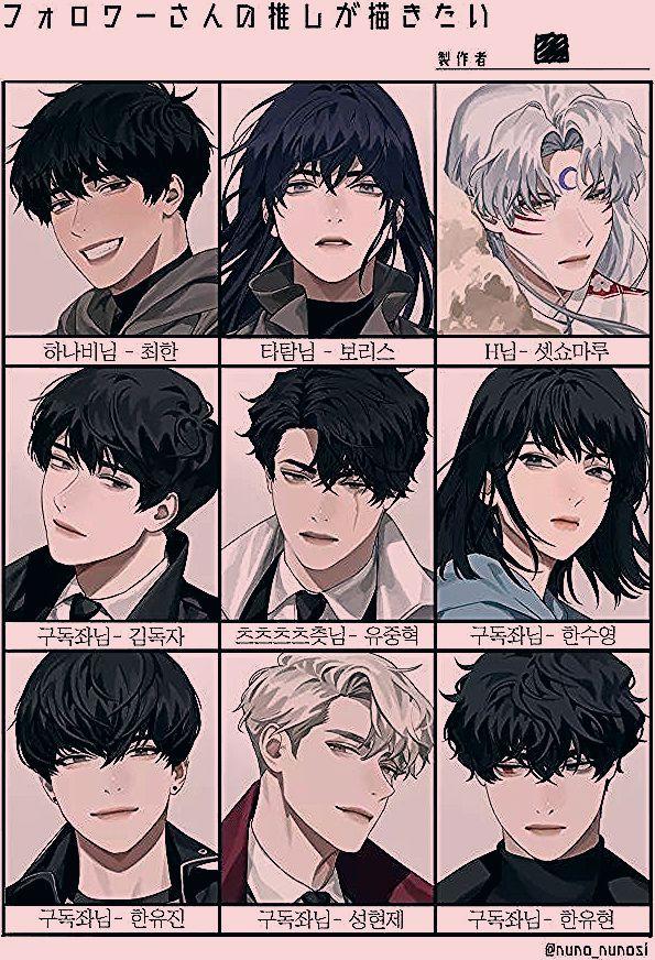 Anime Hairstyles Anime Hair Anime Hair Styles