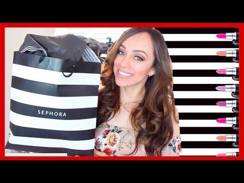 (908) SUPER HAUL DE SEPHORA!💄ME COMPRE TODA LA TIENDA?! - YouTube
