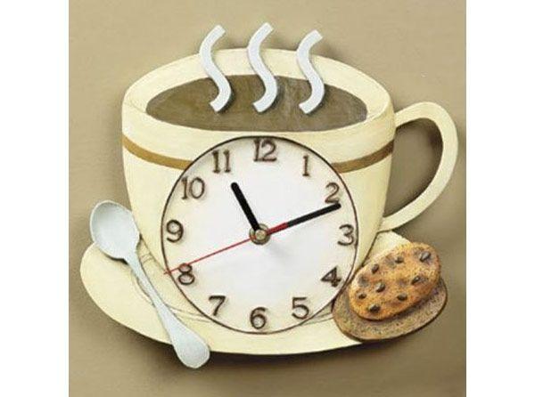 Creative Kitchen Clocks