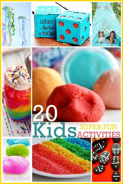 20 Super FUN Activities for kids