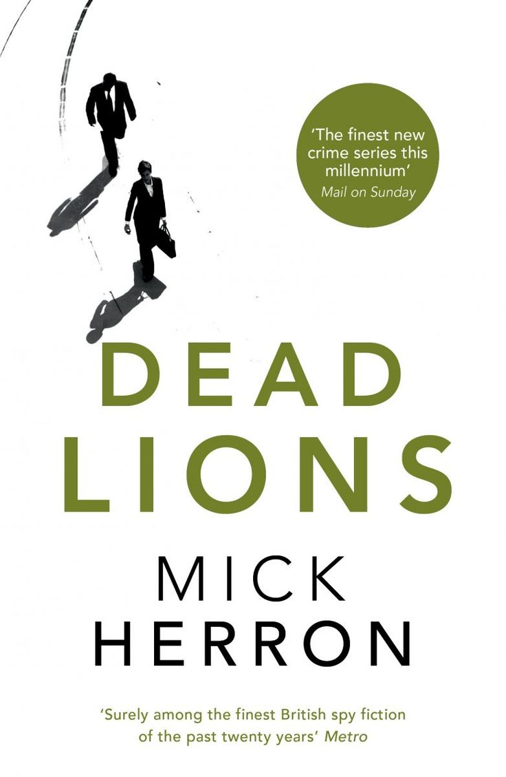 Dead Lions, by Mick Herron