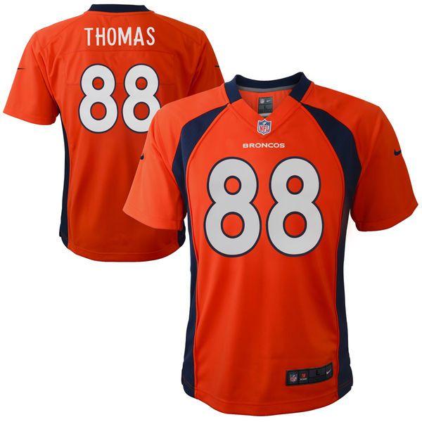 Demaryius Thomas Denver Broncos Nike Preschool Game Jersey – Orange - $54.99