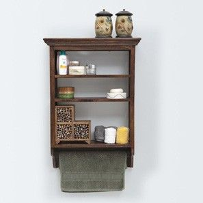 Jeeves Kitchen Rack (Walnut Finish)