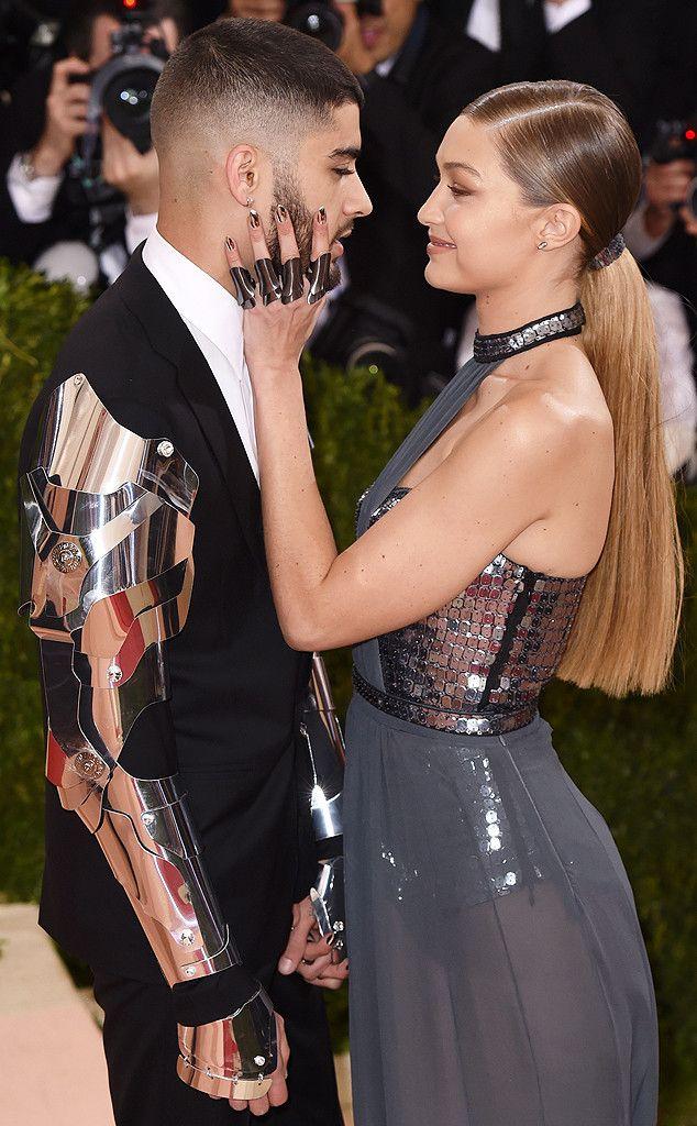 Zayn Malik & Gigi Hadid from Les stars prises sur le vif au gala du Met 2016