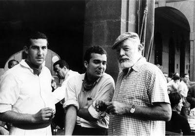 Ruta de Ernest Hemingway por Pamplona. http://www.turismo.navarra.es/esp/organice-viaje/recurso.aspx?o=4798&masInf=1