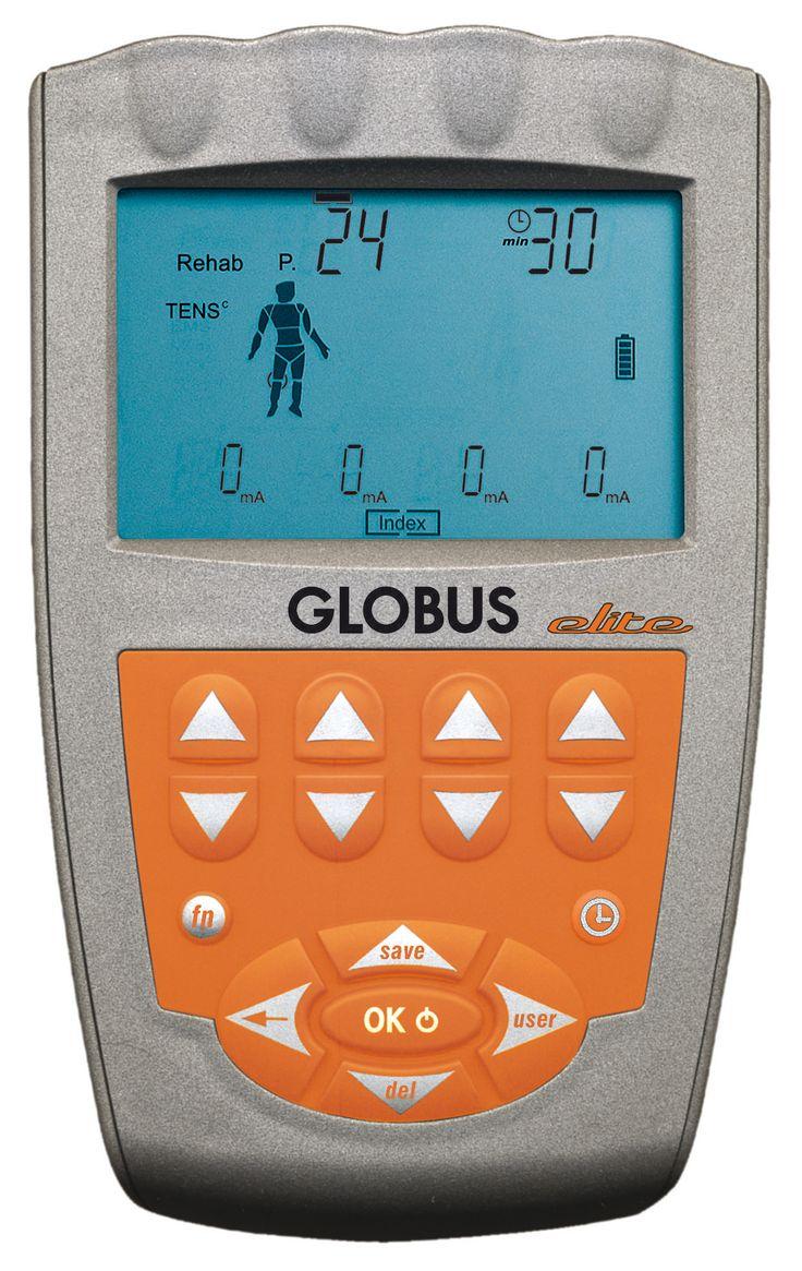 Electroestimulador Globus Elite 4 para Deportes, fitness y belleza.