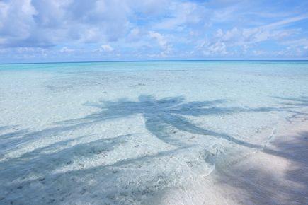 ジープ島の海