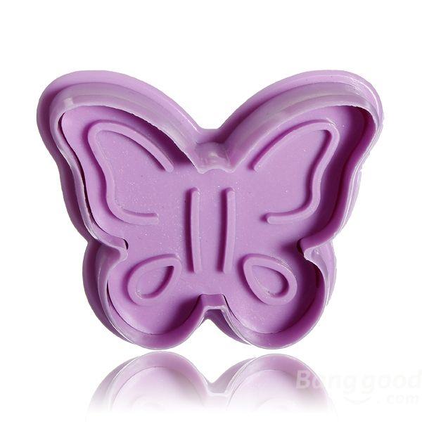 Stereo DIY Cartoon Butterfly Shape Cookie Cake Mold