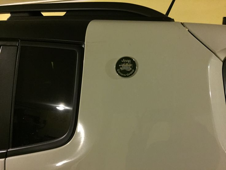 Applicazione logo Jeep Owners Group