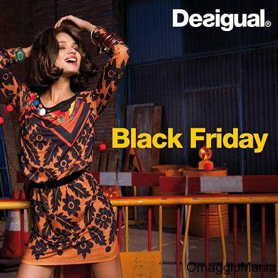 Desigual Black Friday: sconto 20% su tutto (solo oggi) - http://www.omaggiomania.com/abbigliamento/desigual-black-friday-sconto-20-su-tutto-solo-oggi/