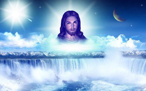 Wallpaper of jesus....in my heart for fans of Jesus.