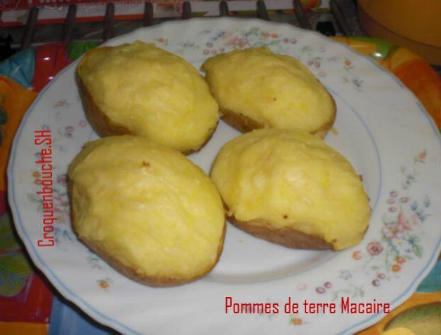 Pommes de terre Macaire
