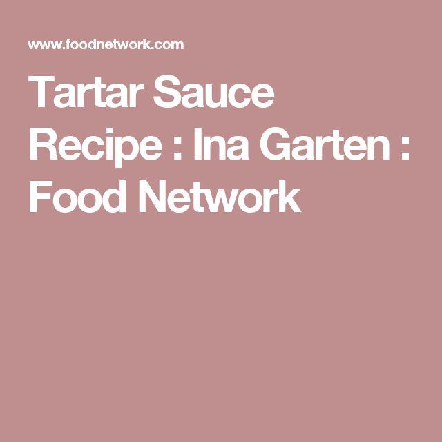 Tartar Sauce Recipe : Ina Garten : Food Network