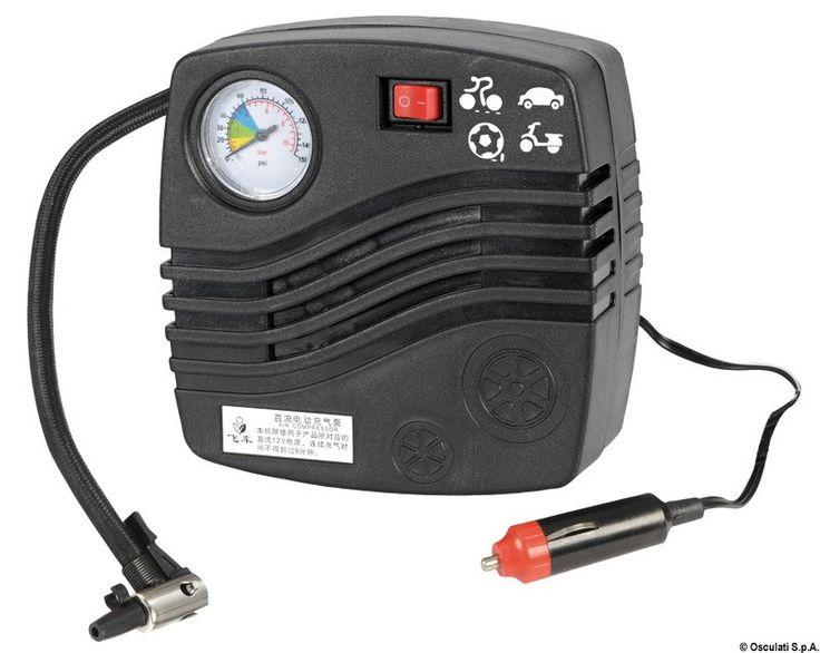 Gonfiatore elettrico per parabordi Scopri di più su -->