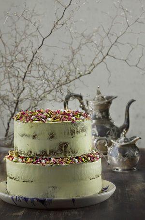 Orange Cake with Persian Figs