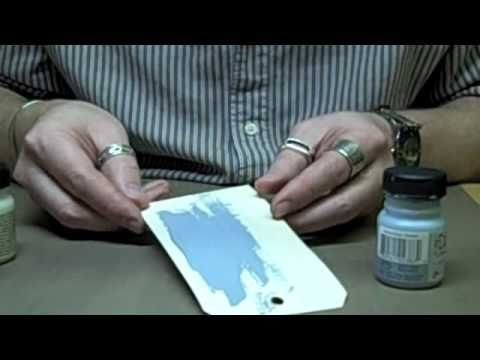 Distress crackle paint resist video