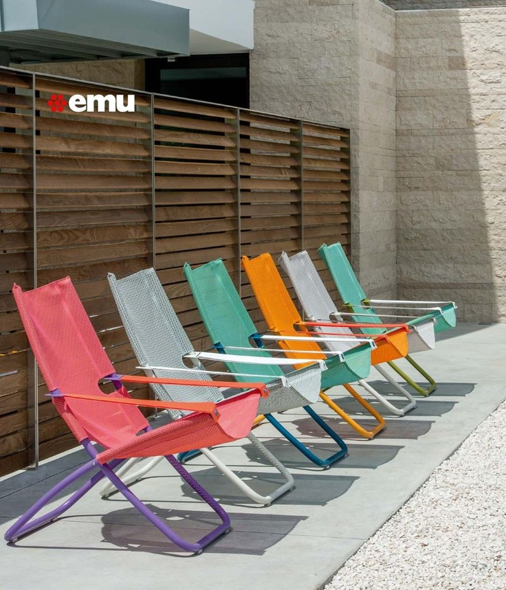The Snooze Deckchair was designed by duo Chiaramonte Marin for the outdoor  specialist emu  With this deck chair the creative minds behind Snooze. 16 best EMU OUTDOOR images on Pinterest   Emu  Outdoor furniture