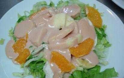 Salsa rosa - La salsa rosa è un'ottima crema con la quale guarnire antipasti a base di pesce e crostacei, perfetta per i cocktail di scampi e di gamberi.