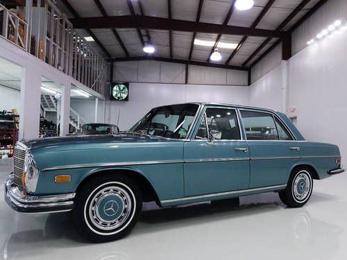From Mercedes Enthusiast: Elvis Presley's 1971 280SEL is for sale - and you might want to take up that finance offer.