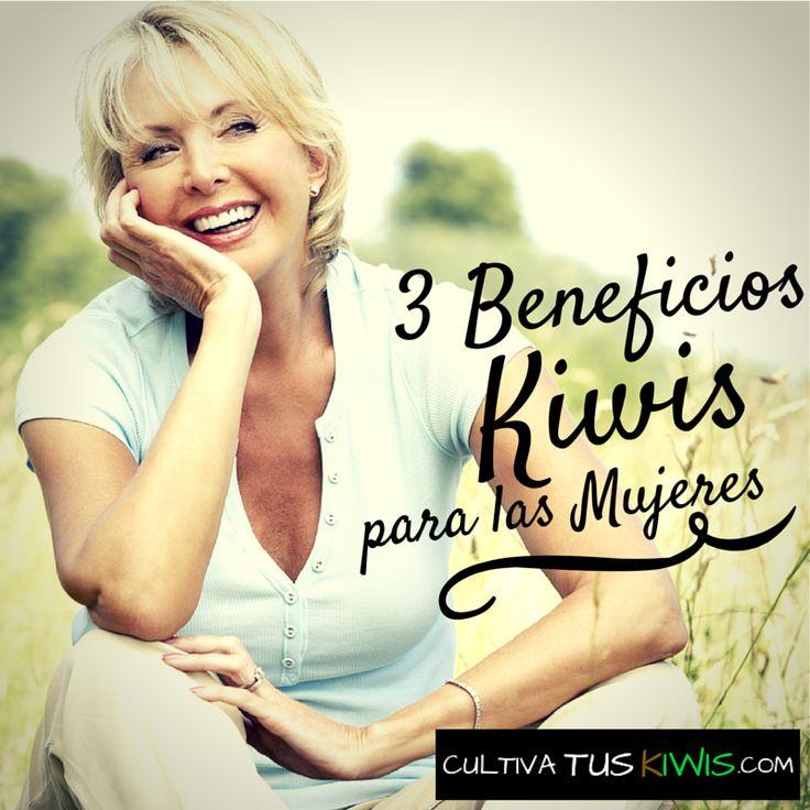Tres motivos por los que la mujeres deben comer #Kiwis