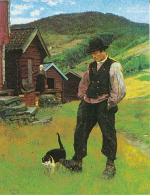 Welcome to Norway Art Online Erik Werenskiold.