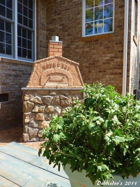 DIY Outdoor pizza oven! - Debbiedoo's