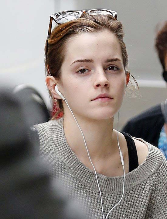 Emma Watson without makeup