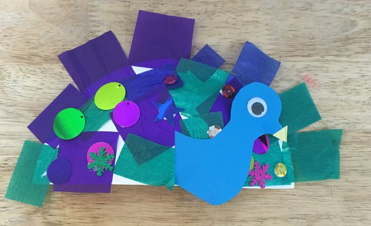 We have made a lot of bird projects lately, but my favourite by far has to be these lovely little peacocks! You may need: Paper plates Blue construction paper Yellow a4 paper Googly eyes Assorted t…
