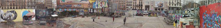Panorámica de la plaza de la Cebada.