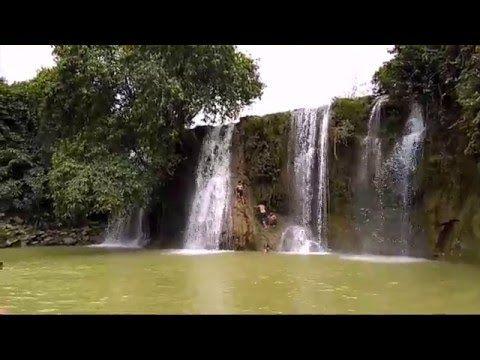 Air Terjun Grodo Niagara Mini di Jawa Tengah - Jawa Tengah