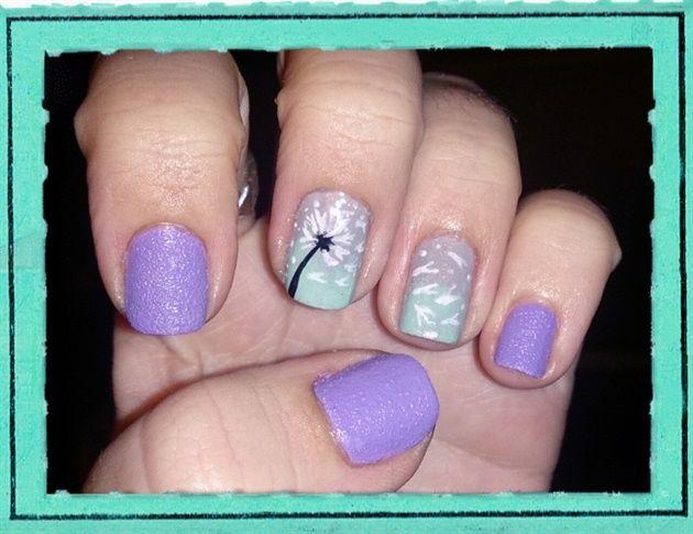 The 25 best dandelion nail art ideas on pinterest pretty nails dandelion nail art by love4beauty nail art gallery nailartgalleryilsmag by nails prinsesfo Gallery