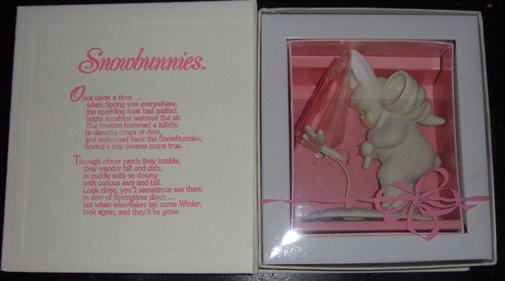 Springtime Stories Snowbunnies You Better Watch Out I'll Catch You Dept 56 NIB
