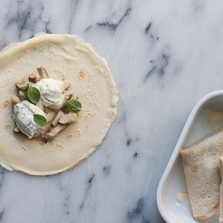 Crespelle with Porcini and Gorgonzola Recipe on Food52 recipe on Food52