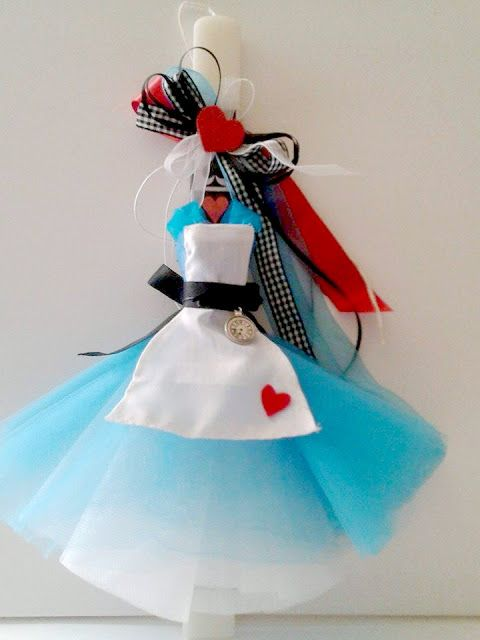 Irene & Nicki Crafts:     Alice in Wonderland Easter Candle    ...